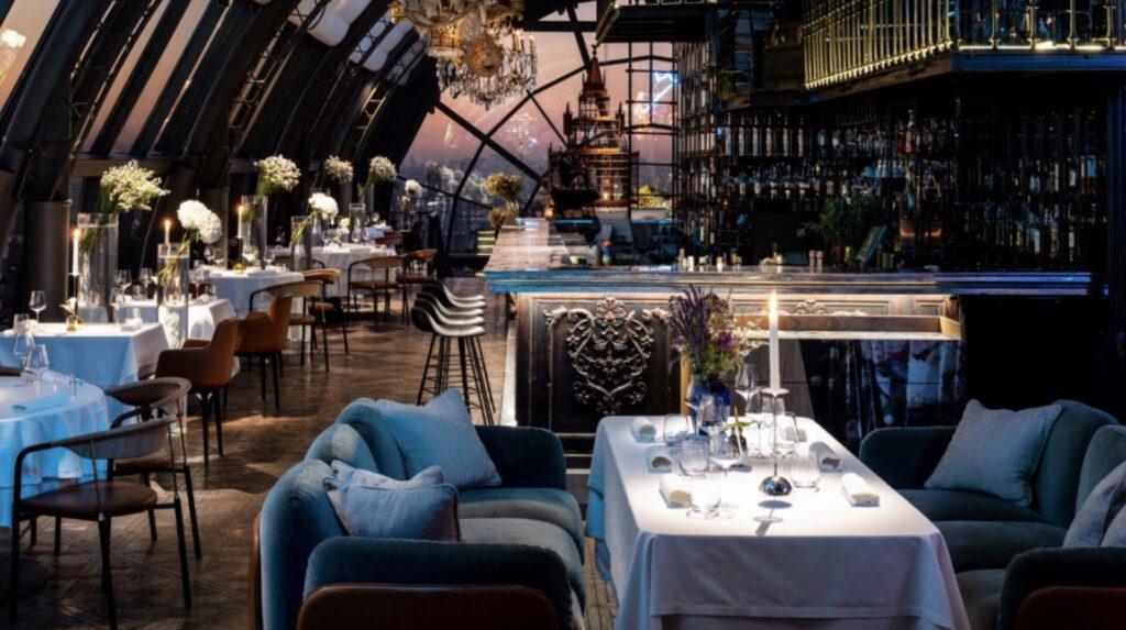 restaurant white rabbit moskau russland