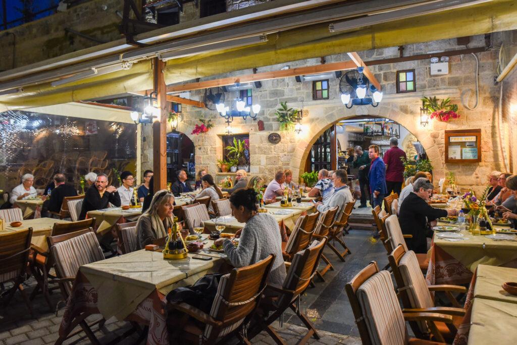 restaurant mama sofia rhodos griechenland